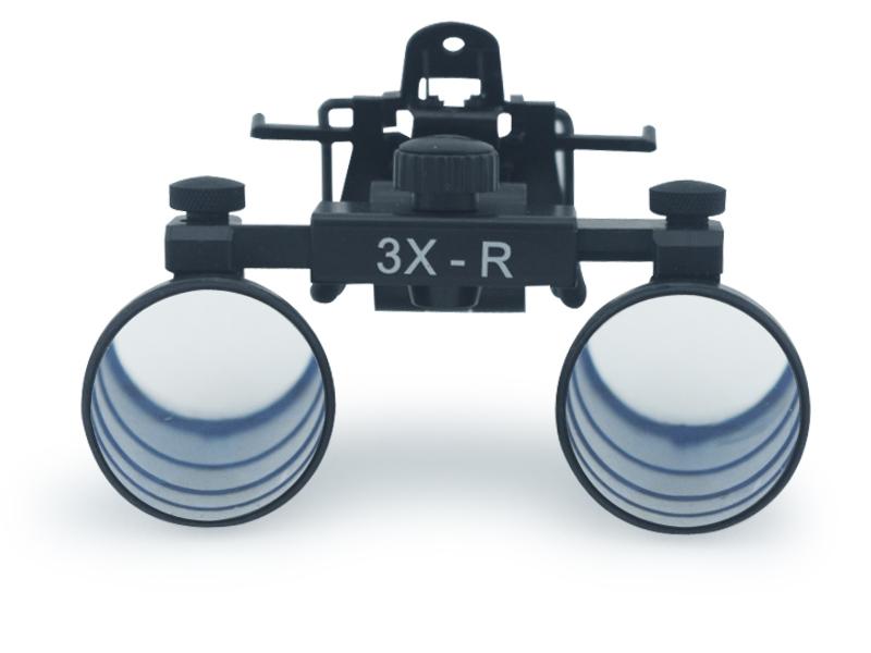 Dental Clip On Magnifying Loupes Binocular Magnifier 3 0 X