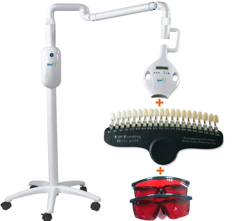 Dentist Dental Teeth Whitening Machine 8 Led Lights With 20 Colors